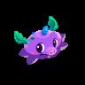 Dragon Story - Coral Dragon Baby