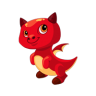 Dragon Story - Fire Dragon Baby
