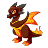 Dragon Story Firestorm Dragon Adult