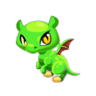Dragon Story - Forest Plant dragon Baby