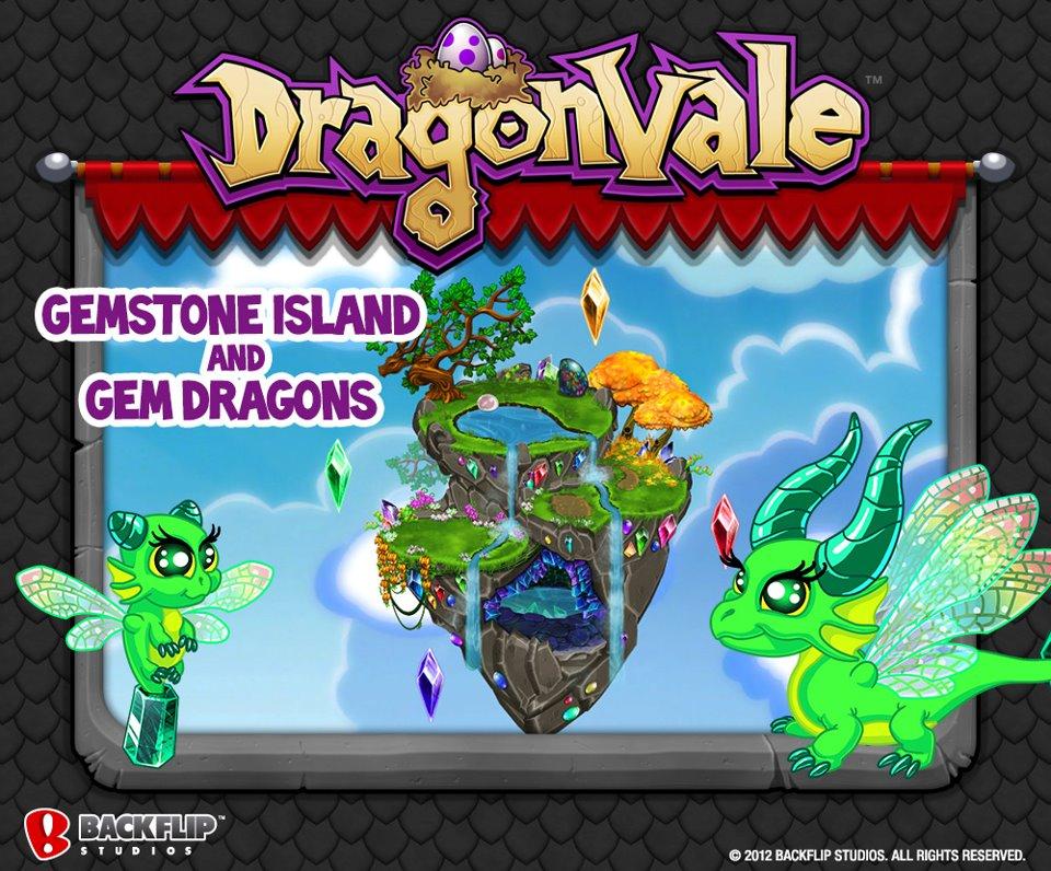 dragonvale gem dragons gemstone island announced gameteep