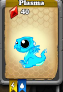 DragonVale - Plasma Dragon