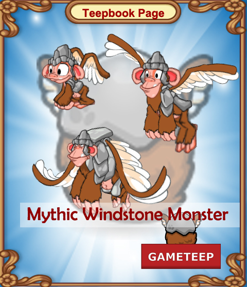 Tiny Monsters Teepbook - Mythic Windstone Monster