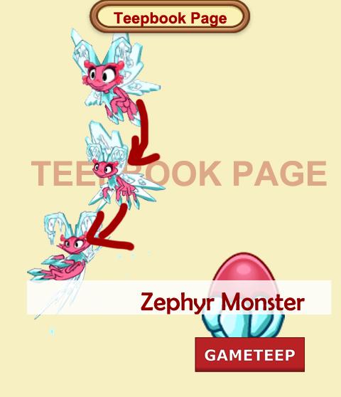 Tiny Monsters Teepbook - Zephyr Monster Baby