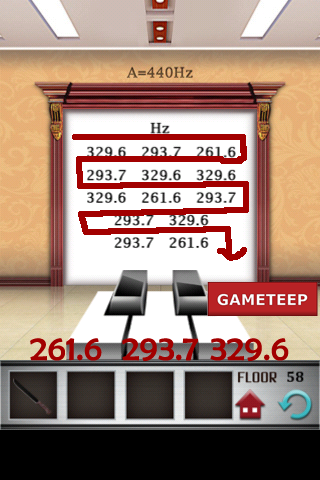 100 floors level 58 gameteep for 100 floors 31st floor