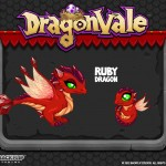 DragonVale - Ruby Gemstone Dragon