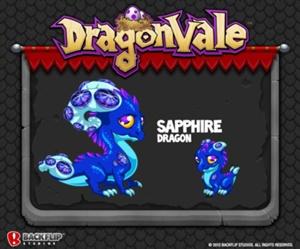 DragonVale - Sapphire Dragon Preview