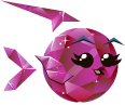 Fish with Attitude: Rare Ruby Fish