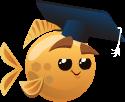 Fish with Attitude Ultra-Rare Smart Fish Baby