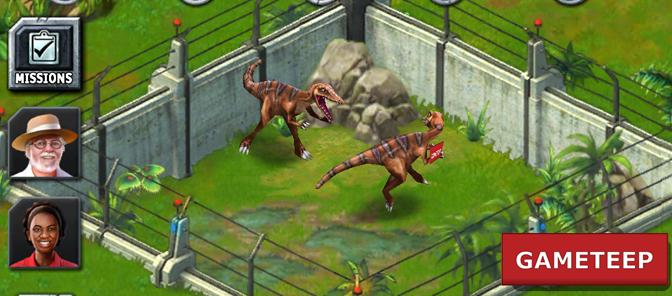 Jurassic Park Builder:...
