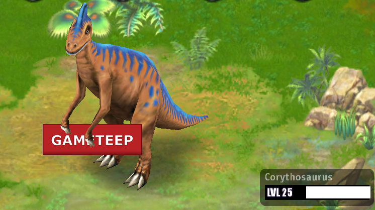Jurassic Park Builder  Corythosaurus   GameteepJurassic Park Corythosaurus
