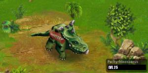 pachyrhinosaurus jurassic park  Jurassic Park Builder Pachyrhi...