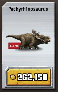 pachyrhinosaurus jurassic park  Jurassic Park Build...