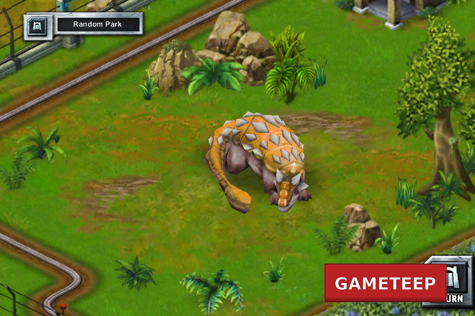 Jurassic Park Builder Screenshot - 2