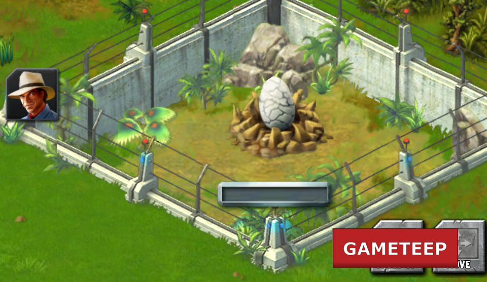 Jurassic Park Builder Screenshot Egg