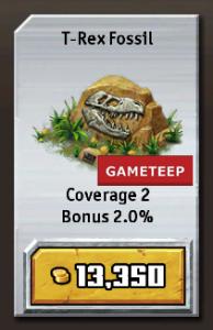 Jurassic Park Builder - T-Rex Fossil