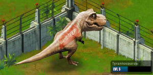 Jurassic Park Builder Tyrannosaurus Evolution 1 Adult