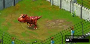 Jurassic Park Builder Tyrannosaurus Evolution 3 Baby
