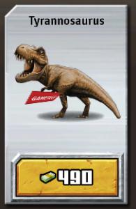 Jurassic Park Builder Tyrannosaurus icon