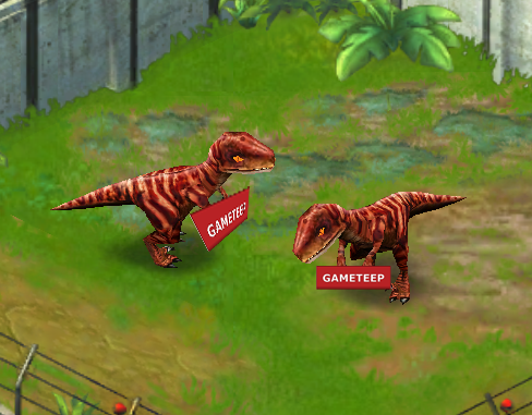Jurassic Park Builder: Velociraptor | Gameteep