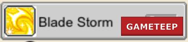 MapleStory Live - Blade Storm Skill