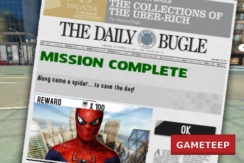 The Amazing Spider Man iPhone - Android Mission Complete