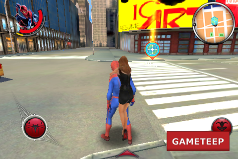 The Amazing Spider Man iPhone - Android Saving People