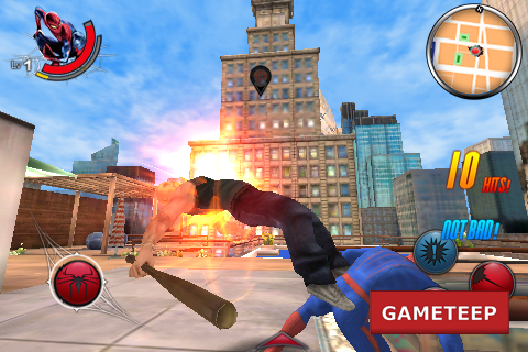The Amazing Spider Man iPhone - Android Super Kick