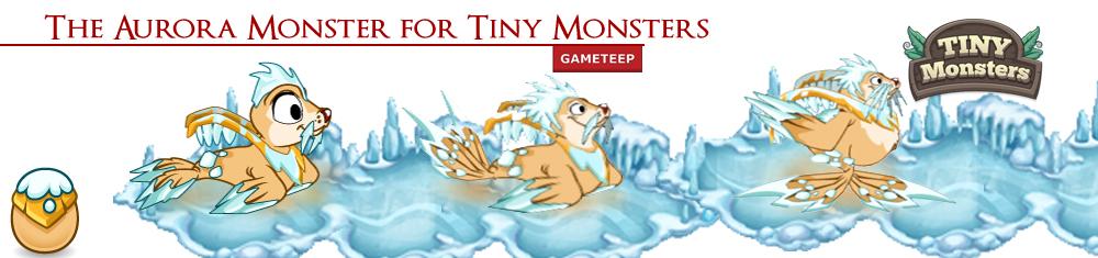 Tiny Monsters Aurora Monster Banner