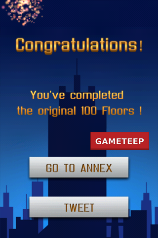 100 Floors Level 100 Beat