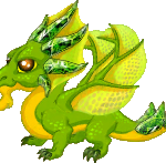 DragonVale: Peridot Dragon is back for breeding, 2013!