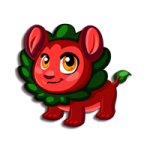 Monster Story Leaf Lion Monster Baby