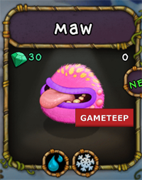 My Singing Monsters Maw Monster