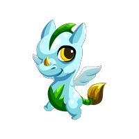 Dragon Story Pegasus Dragon Baby