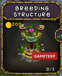 My Singing Monsters: Breeding Structure