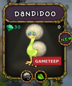 My Singing Monsters Dandidoo Monster