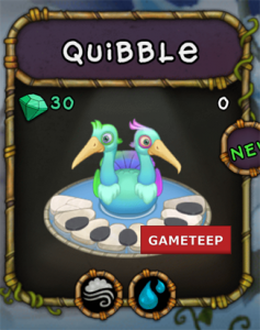 My Singing Monsters Quibble Monster