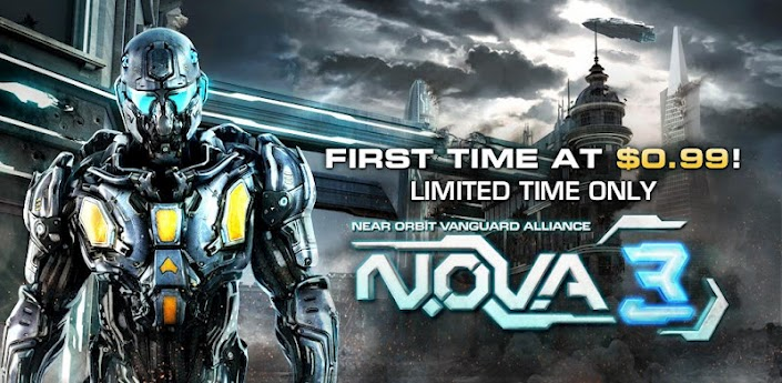 Android Deal) N.O.V.A. 3 - Near Orbit Vanguard Alliance | Gameteep