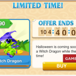 Dragon Story: Witch Dragon, Limited Time to Breed