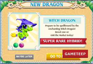 Dragon Story Witch Dragon Splash screen