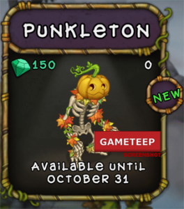 My Singing Monsters Punkleton Monster
