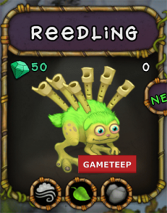 My Singing Monsters Reedling Monster