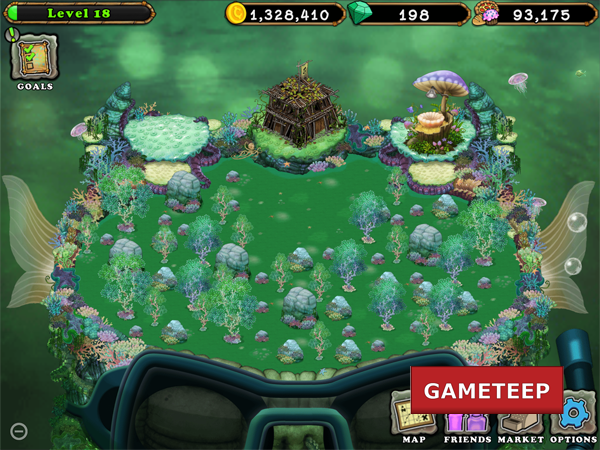 My Singing Monsters: Update 1.0.3, Water Island