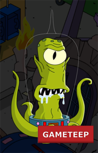 The Simpsons Tapped Out - Kang