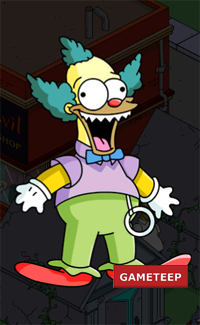 The Simpsons Tapped Out - Talking Krusty Doll