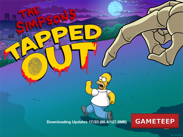 The Simpsons Tapped Out Update 3.0.0 Screenshot 1