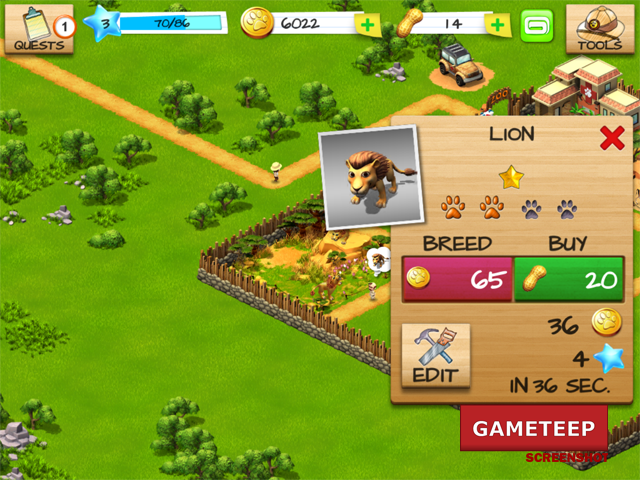 Wonder Zoo Animal Rescue Screenshot 6 Gameteep