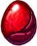 DragonVale Ruby Dragon Egg