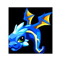 Dragon Story - Storm Dragon Baby
