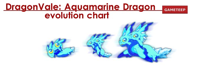 DragonVale Aquamarine Dragon Evolution Chart